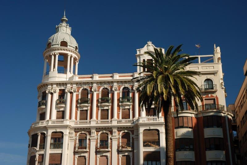 Vecchia costruzione a Murcia, Spagna fotografia stock libera da diritti