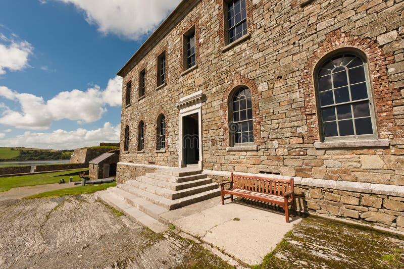 Vecchia costruzione nella fortificazione del Charles, Kinsale immagine stock libera da diritti