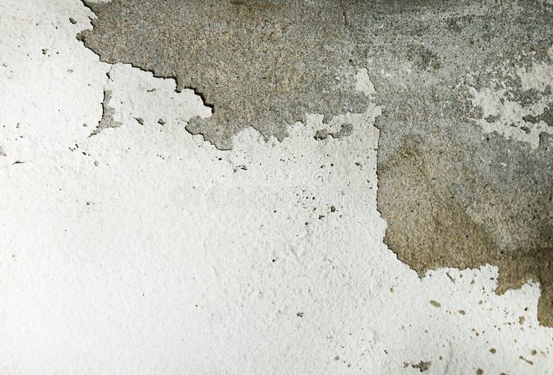 Vecchia crepa della parete sporca fotografie stock libere da diritti