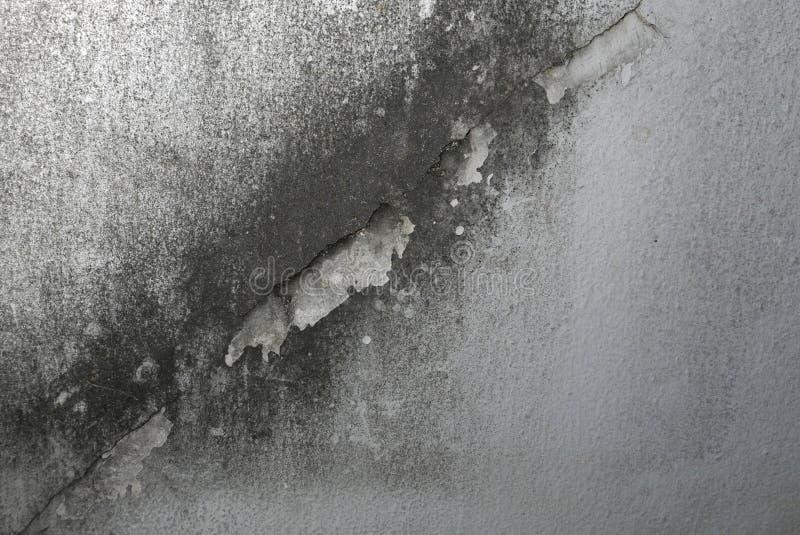 Vecchia crepa della parete sporca fotografia stock libera da diritti