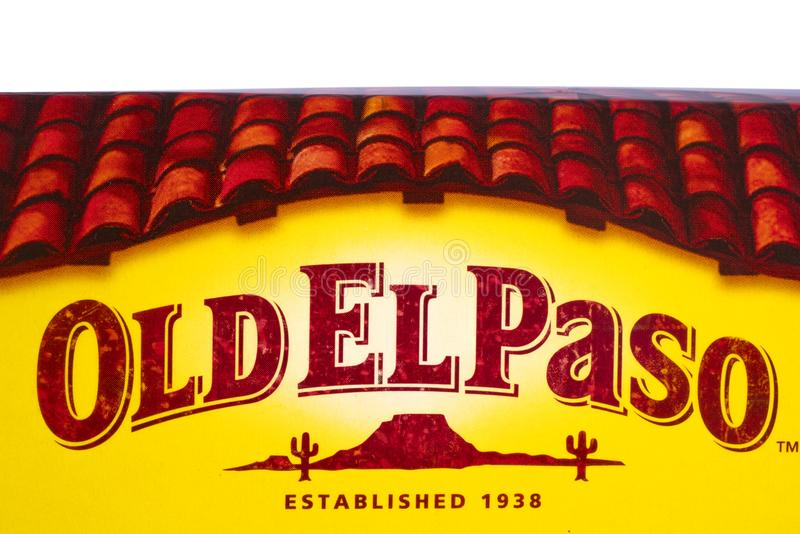 Vecchia El Paso fotografia stock
