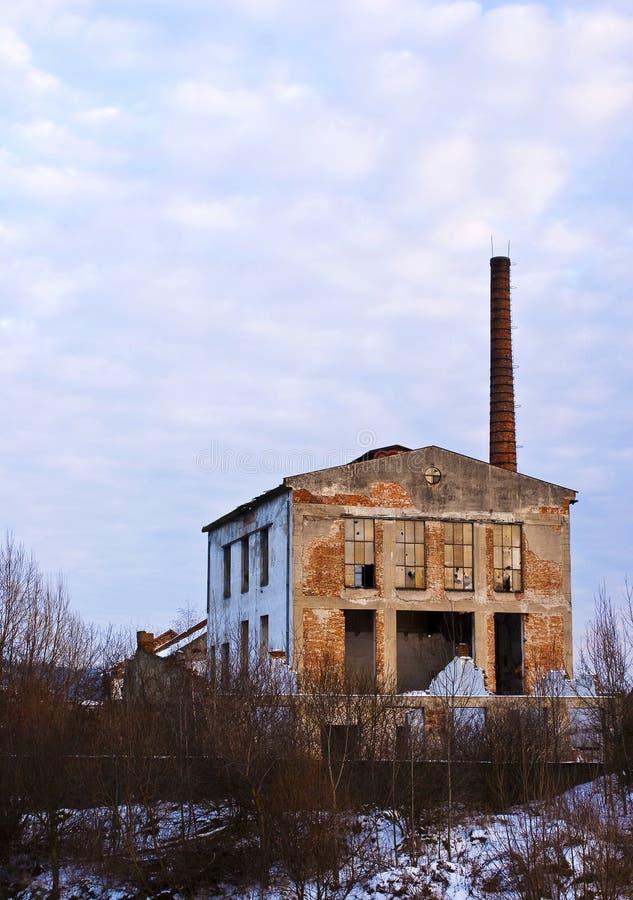 Vecchia fabbrica immagine stock