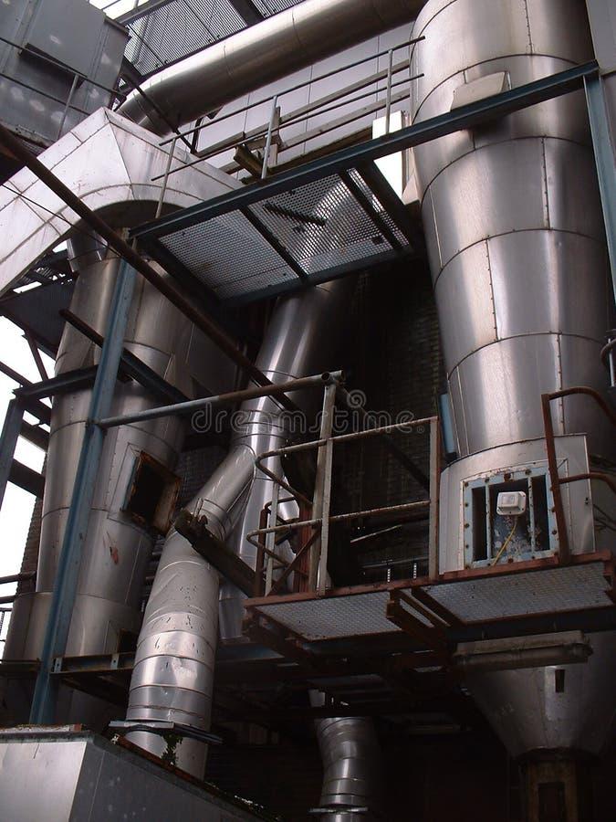 Vecchia fabbrica all'esterno fotografie stock