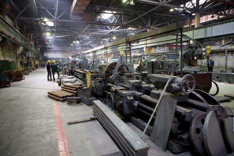 Vecchia fabbrica pesante immagini stock libere da diritti