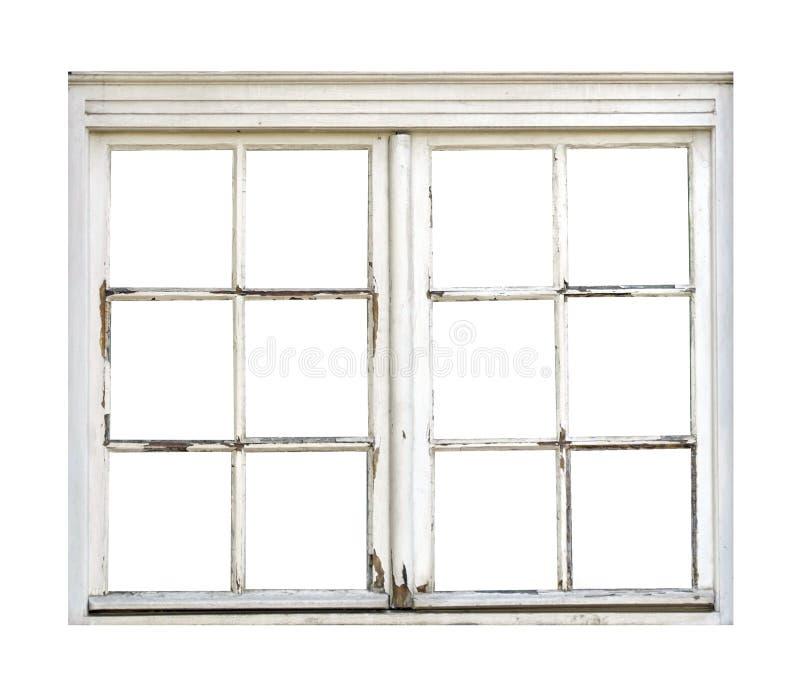 Vecchia finestra di legno fotografia stock immagine di for Finestra legno bianco