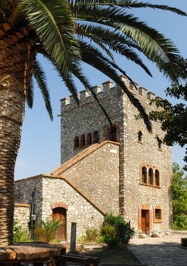 Vecchia fortezza della città di Butrint. immagini stock