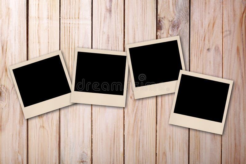 Vecchia foto della polaroid fotografia stock libera da diritti