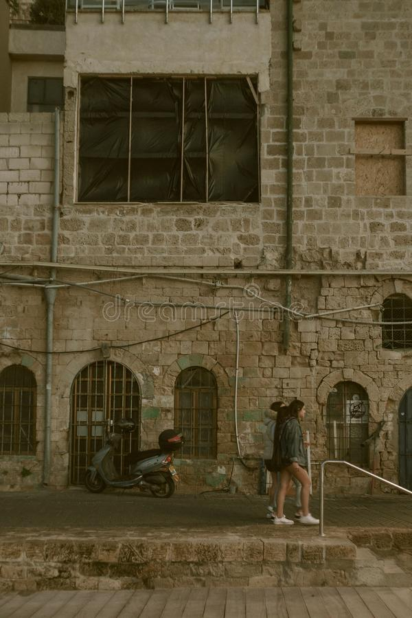 Vecchia Giaffa a Tel Aviv fotografia stock libera da diritti