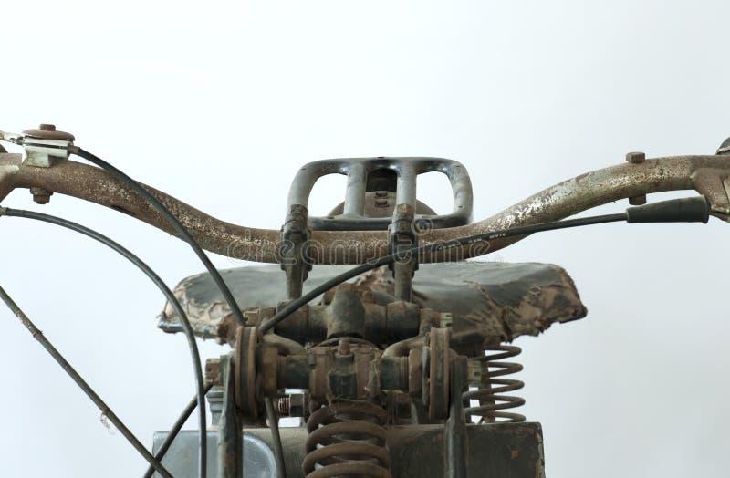 Vecchia guerra II del motociclo fotografie stock