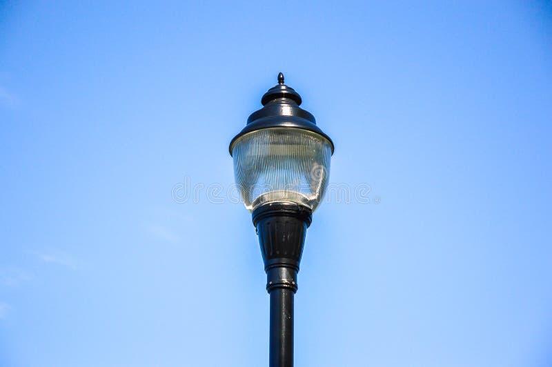 Vecchia iluminazione pubblica a Montreal immagini stock libere da diritti