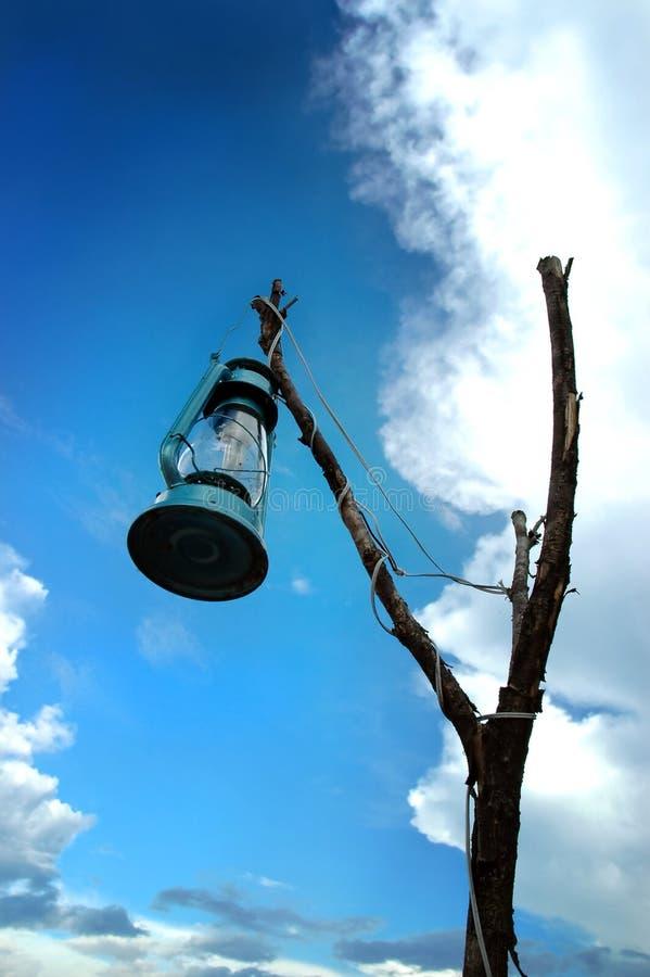 Vecchia lampada fotografia stock libera da diritti