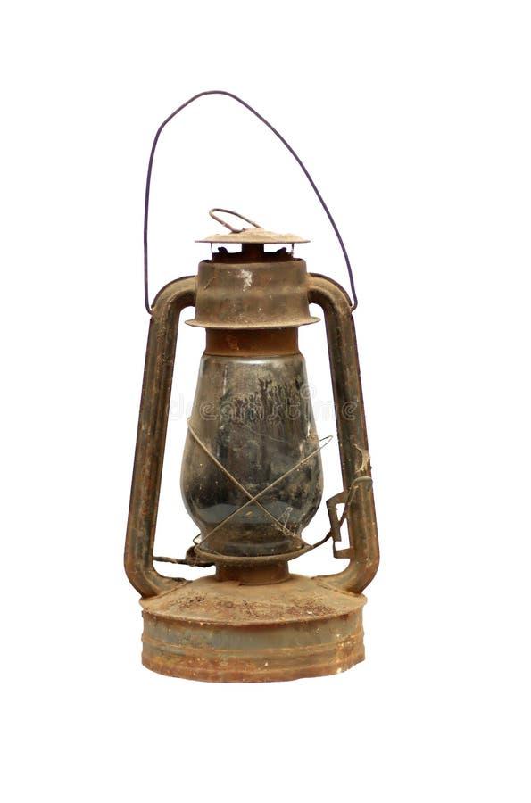 Vecchia lampada di cherosene immagini stock