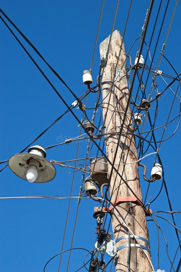 Vecchia lampada di via fotografia stock