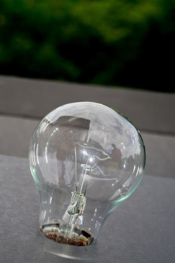 Vecchia lampadina fotografie stock