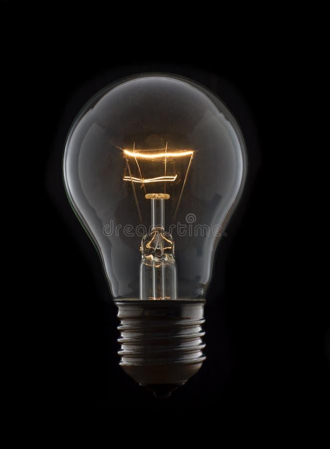 Download Vecchia Lampadina Senza Cavo Nello Scuro Fotografia Stock - Immagine di incandescente, background: 56892598