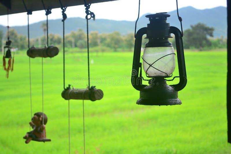 Vecchia lanterna antica immagini stock libere da diritti