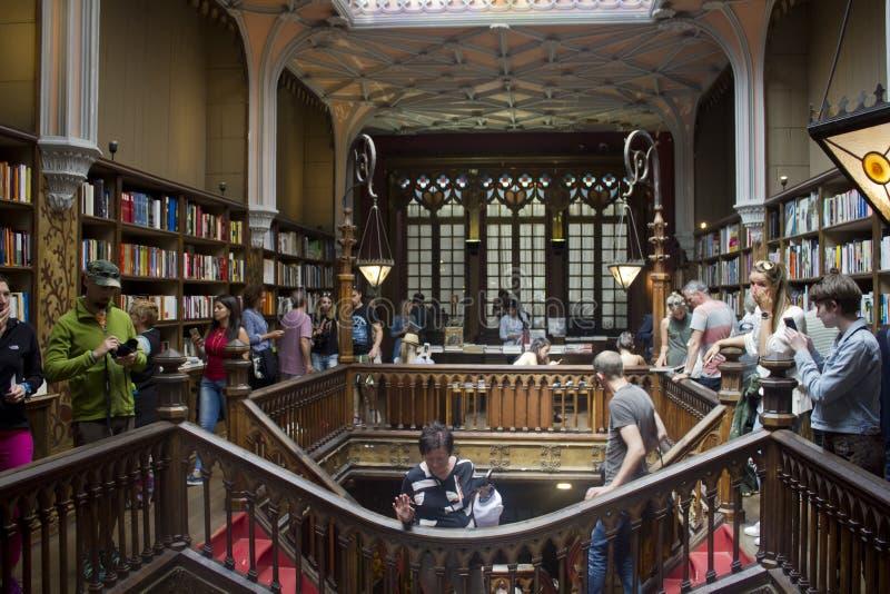 Vecchia libreria famosa di Lello immagini stock libere da diritti