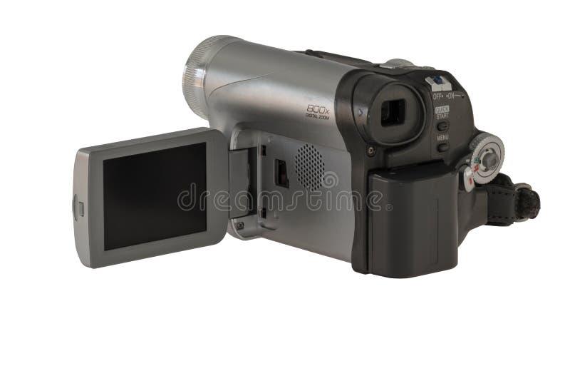 Vecchia macchina da presa immagini stock