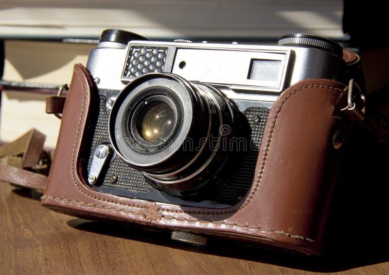 Vecchia macchina da presa fotografia stock libera da diritti