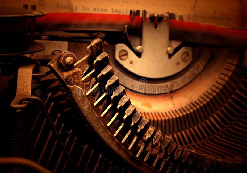 Vecchia macchina da scrivere immagine stock libera da diritti