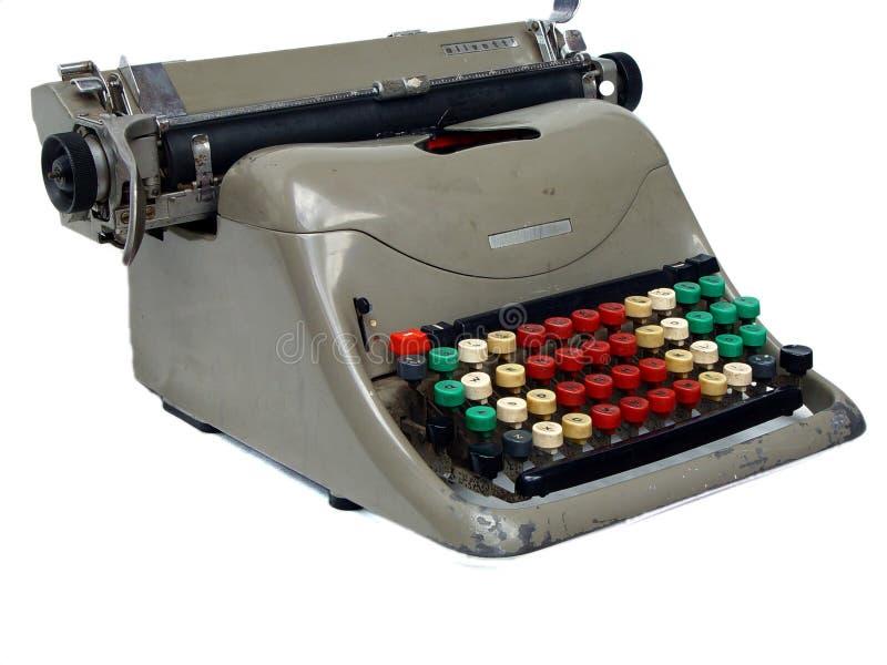 Vecchia macchina da scrivere fotografia stock