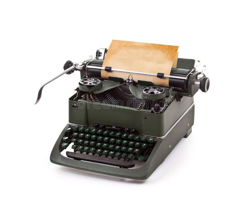 Vecchia macchina da scrivere dell'annata fotografia stock
