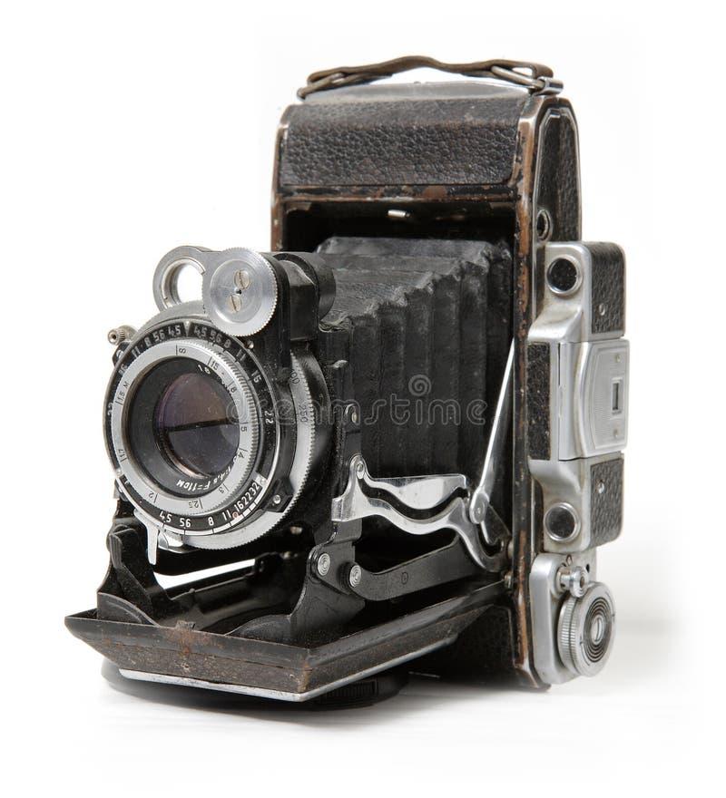 Vecchia macchina fotografica. fotografie stock