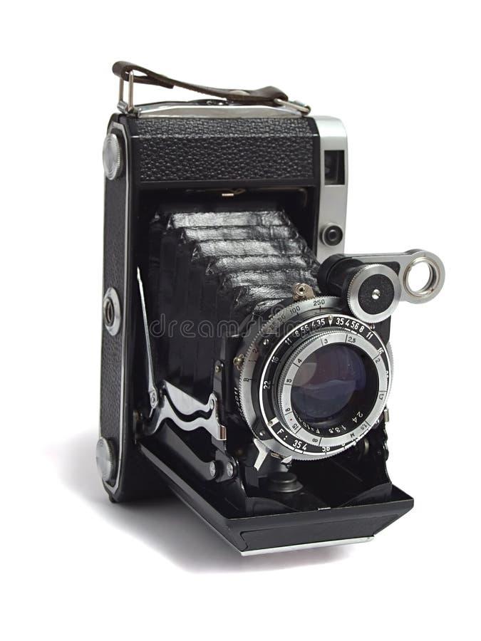Vecchia macchina fotografica antica immagini stock