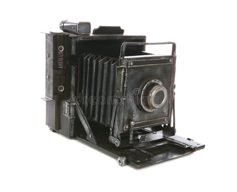 Vecchia macchina fotografica dell'annata immagine stock