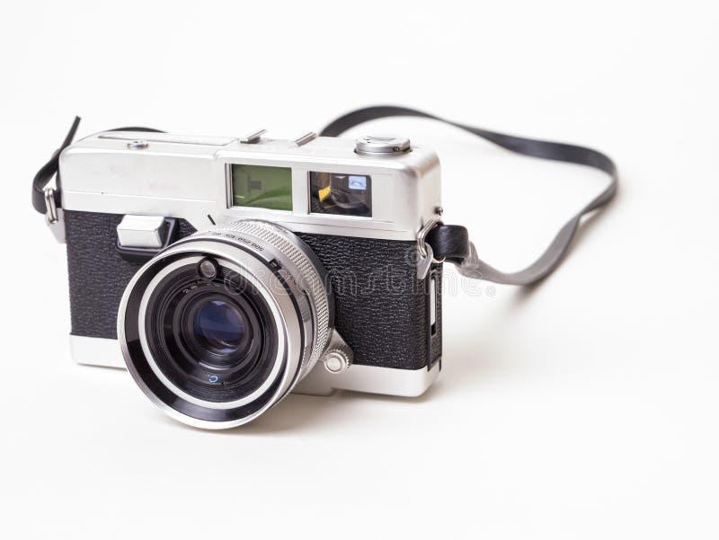Vecchia macchina fotografica della pellicola dell'annata immagini stock