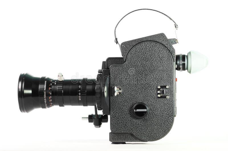 Vecchia macchina fotografica di film di Fashoned immagine stock