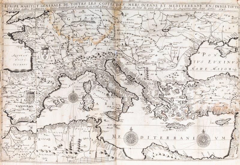 Europa Meridionale Cartina.Mappa Dell Europa Meridionale Fotografia Stock Immagine Di Portugal Italia 94279050