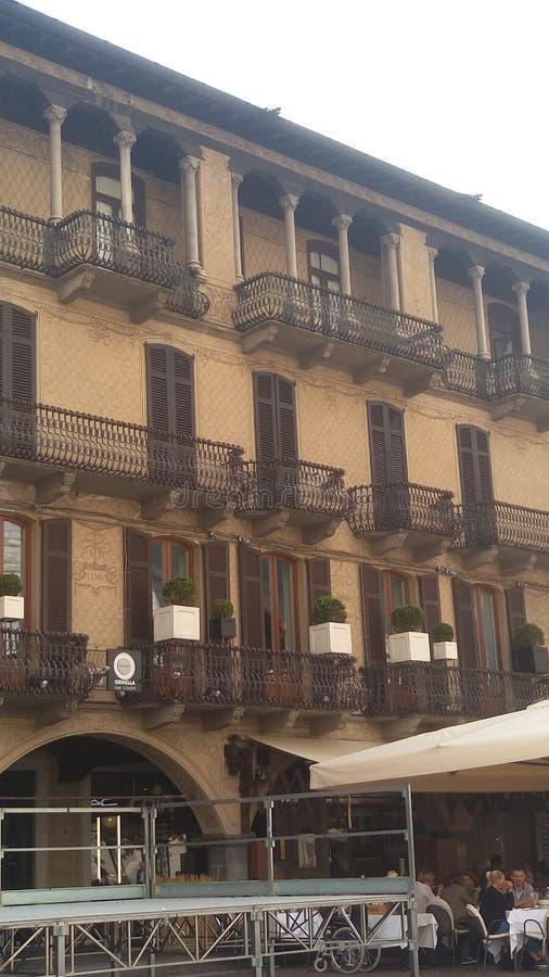 Vecchia Milano fotografia stock