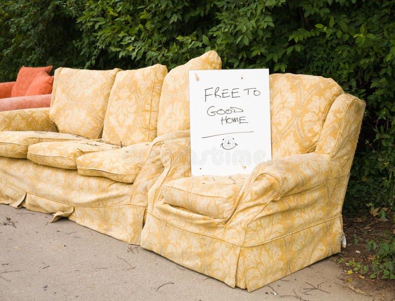Vecchia mobilia fotografia stock libera da diritti