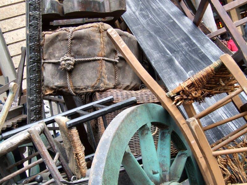Vecchia mobilia della materia immagine stock