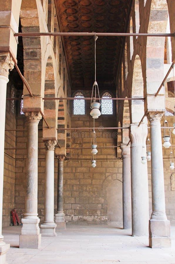 Vecchia moschea a Cairo fotografia stock libera da diritti