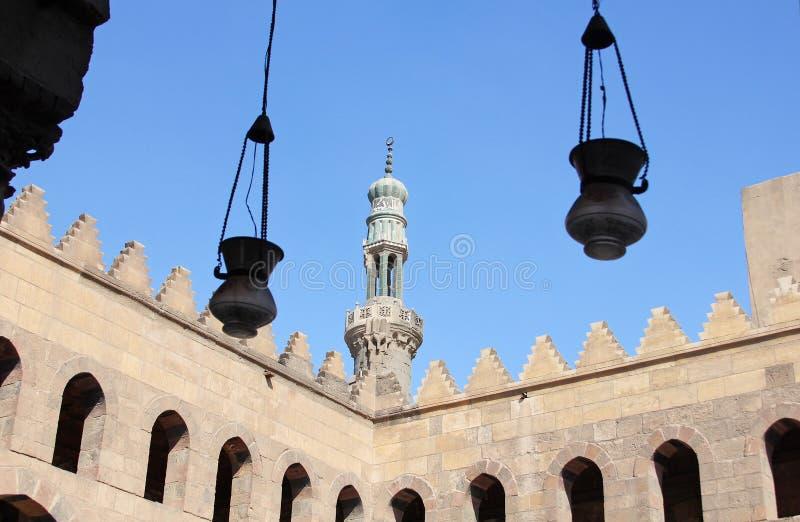 Vecchia moschea a Cairo fotografie stock
