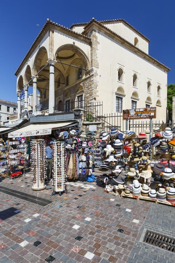 Vecchia moschea in Monastiraki immagini stock libere da diritti