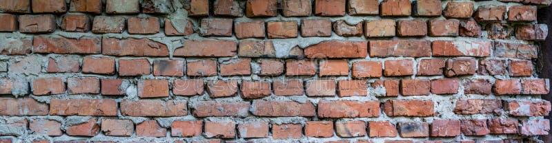 Vecchia muratura Muro di mattoni immagini stock