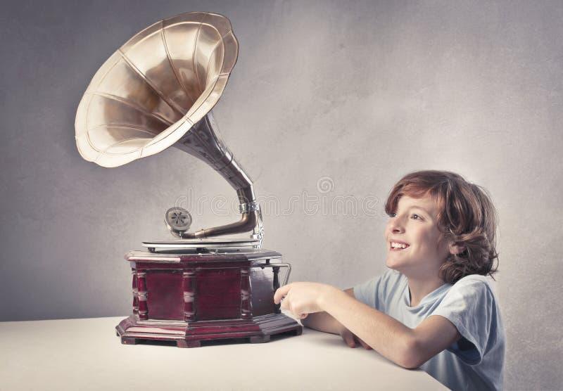 Vecchia musica fotografia stock libera da diritti