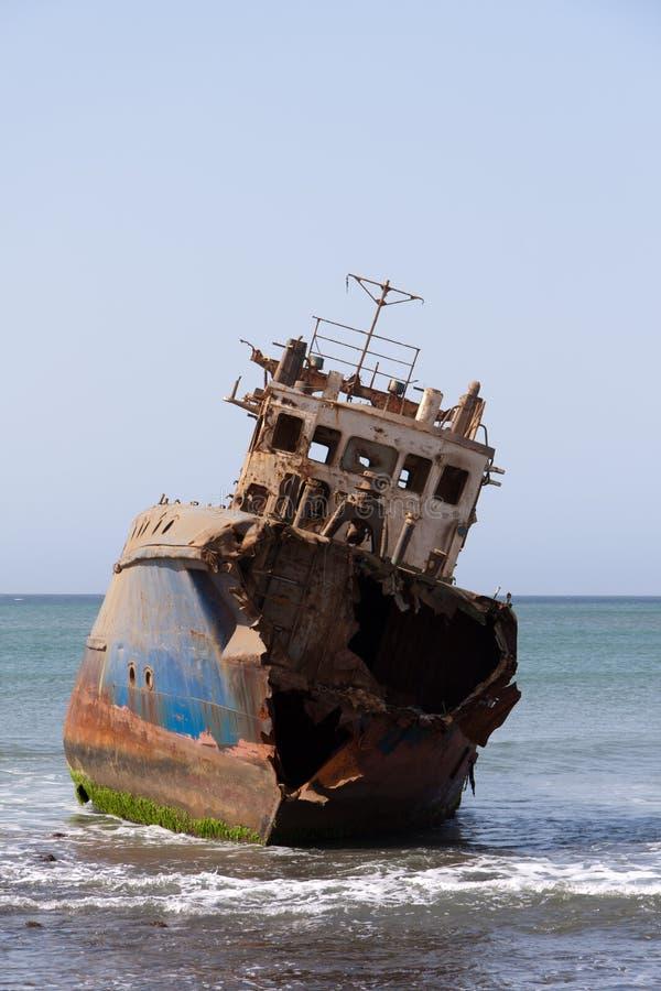 Vecchia nave fotografie stock