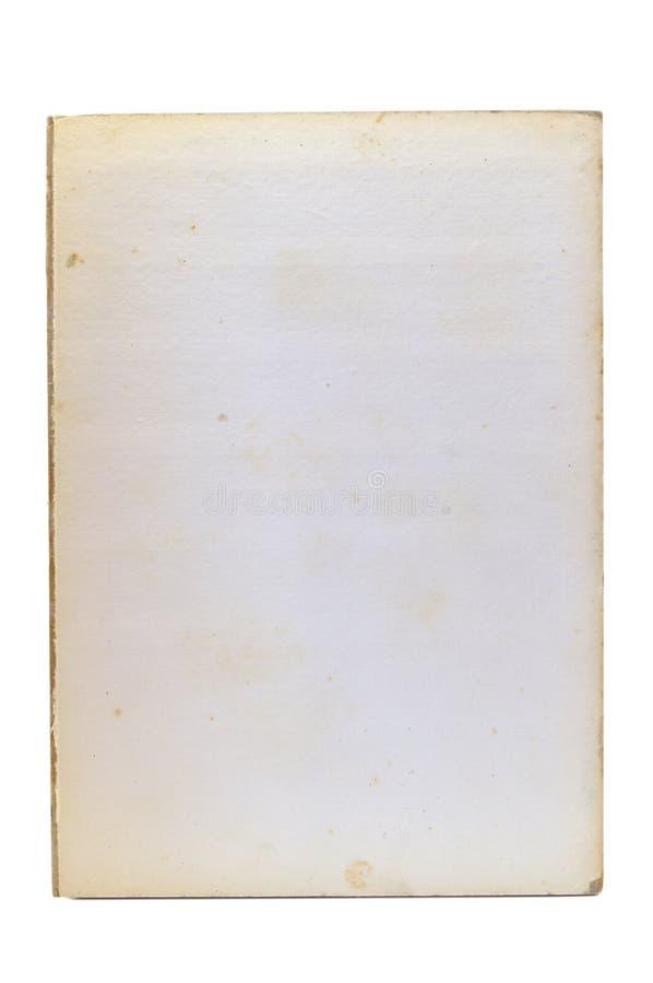 Vecchia pagina di carta fotografia stock libera da diritti