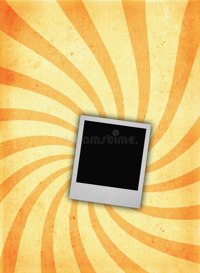 Vecchia pagina di carta DI MASSIMA con il blocco per grafici della foto illustrazione vettoriale