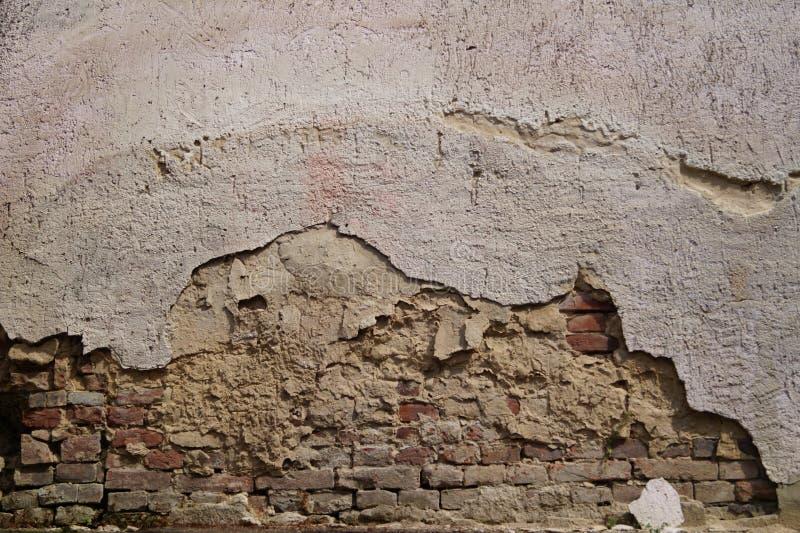 Vecchia parete fotografia stock