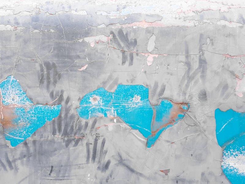 Vecchia parete astratta di colore royalty illustrazione gratis