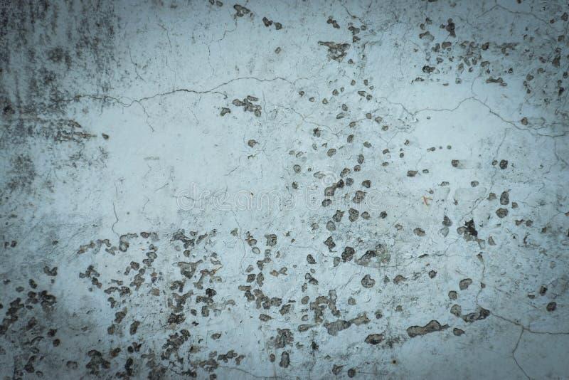 Vecchia parete d'annata della crepa immagini stock libere da diritti