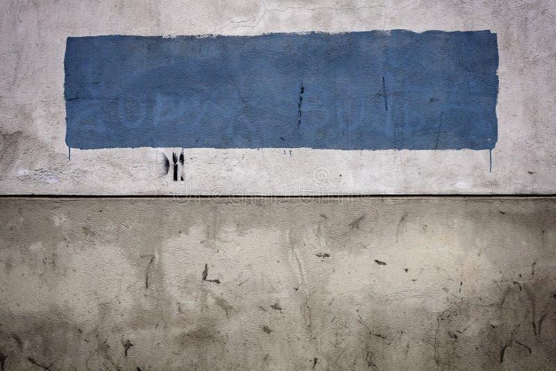 Vecchia parete del cemento fotografia stock libera da diritti