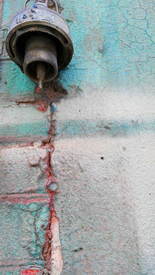 Vecchia parete del colorfull fotografie stock