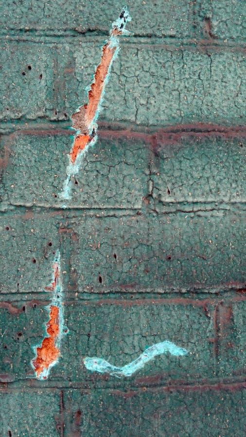 Vecchia parete del colorfull immagine stock