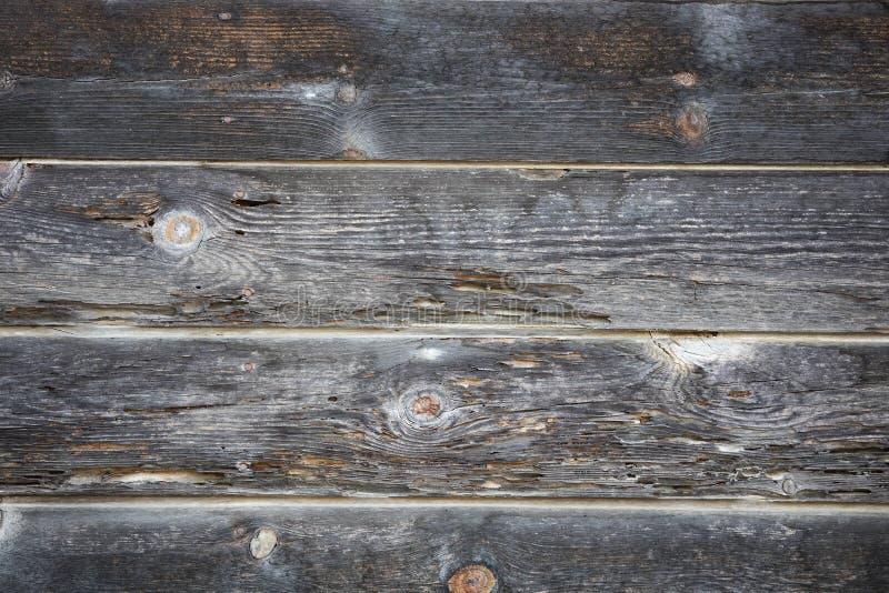 Vecchia parete di legno fotografie stock